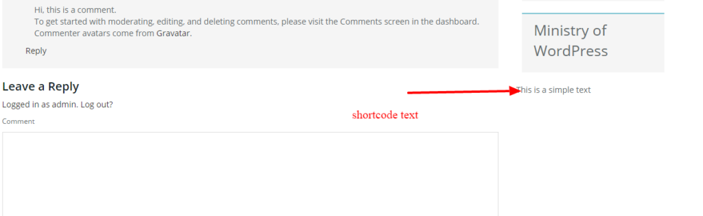 create custom shortcode in wordpress